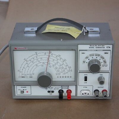 RS Components Ltd Signal Generator 17A 611-133