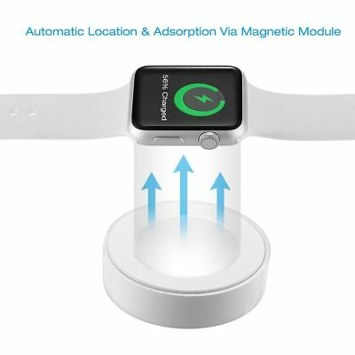 Magnetic Charging Cable Dock Pad Charger For 38/42mm Apple Watch iWatch 1 / 2 /3