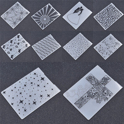 Plastic Embossing Folder Template DIY HandCrafts Novelty Scrapbooking Theme Dots