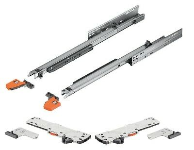 Blum Movento Salida Completa Cajón Extraible 760H Tip-On Blumotion Set Completo