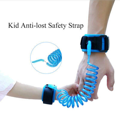 Child Kid Anti-lost Safety Leash Wrist Link Harness Strap Reins Traction Rope UK
