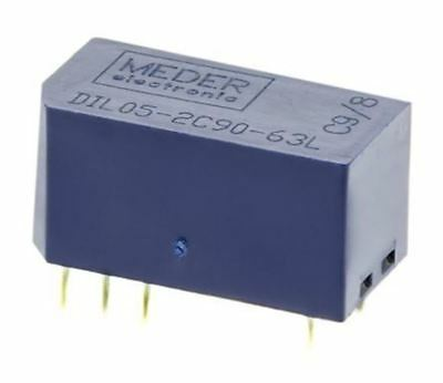Astralux 182A-2 2PNO RS 349-428 5 x Reed Relay 5V d.c coil Double form A
