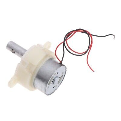 DC 5V-12V 18RPM Slow Speed Mini DC Gear Motor