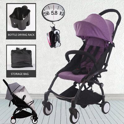 5.8KGPortable Fold Baby Stroller Lightweight Compact Jogger Pram Travel Carry-on
