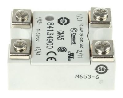 Crouzet 10 A Solid State Relay, Random, Panel Mount Triac, 280 V Maximum Load