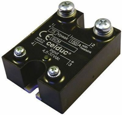 Celduc 150 A Solid State Relay, 100 V dc Maximum Load