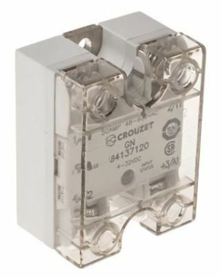 Crouzet 50 A Solid State Relay, Zero Crossing, Chassis Mount SCR, 660 V ac Maxim