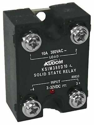 Kudom 10 A Solid State Relay, Zero Cross, Panel Mount Triac, 440 V ac Maximum Lo