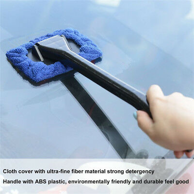 Windshield Cleaner Useful Cleaning Hard-to-Reach Glass Wiper Car Home Tool PO1