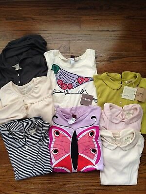 Great lot NWT and EUC girls' tops Olive Juice and Tea 8 10 12 xl