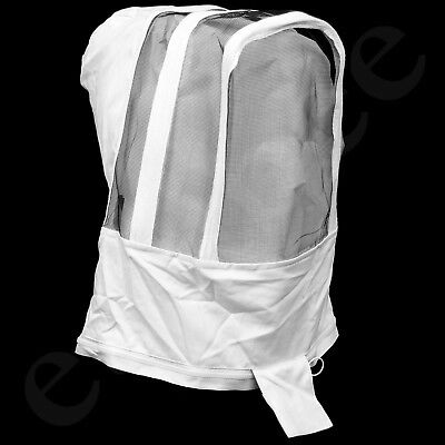 Beekeepers Detachable Fencing Style Veil Bee Suit Beekeeping Protective Easibee
