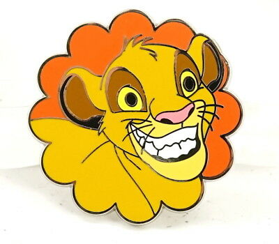 Disney Parks Limited Release  Disney Grins Mystery Collection Pin - Simba