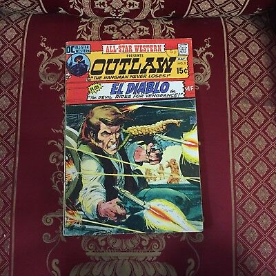 All-Star Western presents Outlaw #5 May 1971 Bagged DC Comic