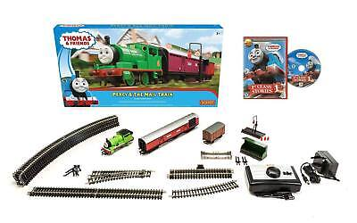 HORNBY R9284 Thomas & Friends - Percy & The Mail Train Set OO Gauge - FREE DVD
