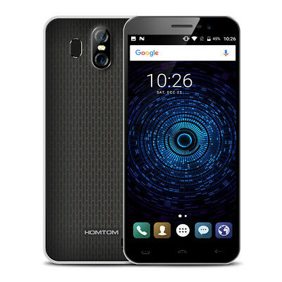 """5.5"""" 18:9 HOMTOM S16 16Go/2Go Quad-core Android 7.0 Touch ID 3G Téléphone Mobile"""