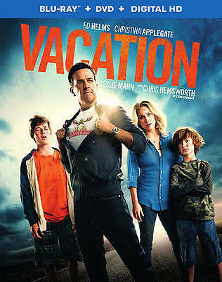 Vacation 2015 Blu-ray and DVD