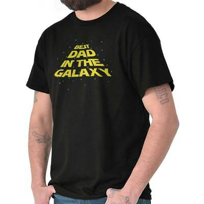 8f808028 Best Dad The Galaxy Cool Nerdy Fathers Day Gift Space Wars Classic T Shirt  Tee