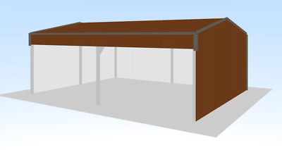 Steel Framed Buildings - Farm Building - 6m x 8m x 2.7m Field Shelter