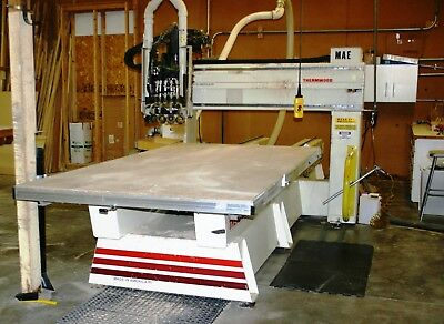 5'x10' Thermwood Model C-40 4-Axis Cnc Router