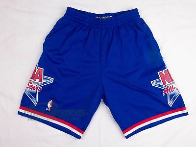 NEW Eastern Conference 1993 Hardwood Classics Blue Shorts by Mitchell & Ness