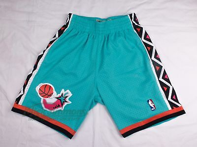 NEW Eastern Conference 1996 Hardwood Classics Teal Shorts by Mitchell & Ness