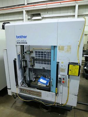 Brother Model Tc32A Cnc Drill/tap Center With Pallet Changer
