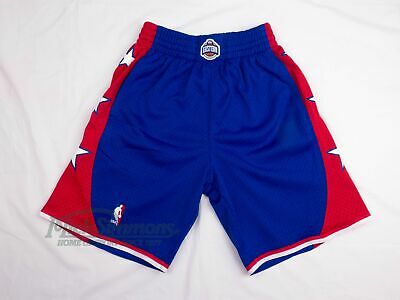 NEW Eastern Conference 2004 Hardwood Classics Blue Shorts by Mitchell & Ness