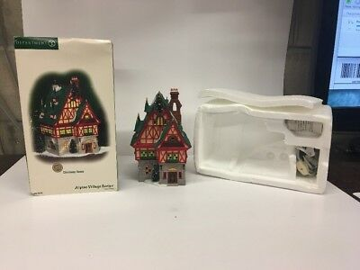 Dept 56 Alpine Village Series 2006 Christmas House #56.56238 Great Piece