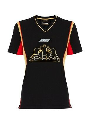 T-SHIRT damen Formula One 1 Lotus F1 Romain Grosjeanschwarz XS DE
