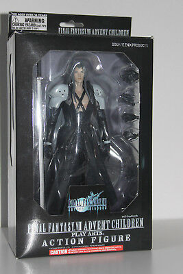 Final Fantasy VII Play Arts Kai Action Figure Sepiroth Advent Children OVP/ MIMB