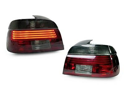 DEPO OE Style Red/Smoke Lightbar LED Tail Light For 2001-03 BMW E39 5 Series /M5