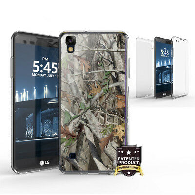 For LG Tribute HD,X Style,Volt 3 Full Body Protector Cover Case US Flag Camo