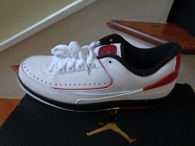 the latest e0cb2 5655b Nike Air Jordan II 2 Retro Low Men s Basketball Shoes, 832819 101 Size 10.5  NWB