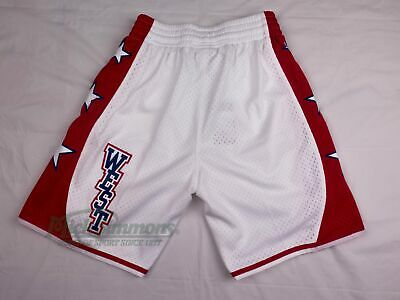 Western Conference 2004 Hardwood Classics White Shorts by Mitchell & Ness