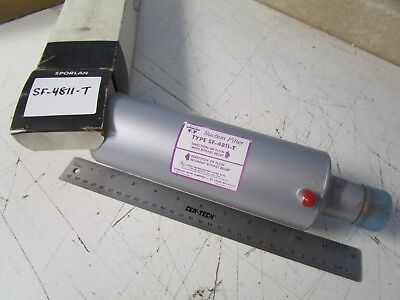 """Sporlan SF-4811-T Suction Filter, 1 3/8"""" ODS, with Access Valve"""