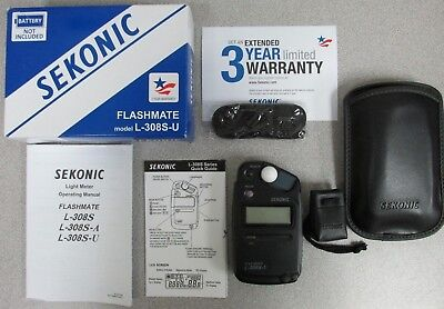 Sekonic Flashmate L-308S-U Flash mate Light Meter - 401-307