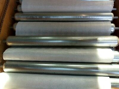 "13"" steel galvanized conveyor roller"