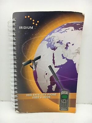 Globe Roamer Iridium 9505 Satellite Phone User Instruction Manual