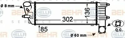 HELLA Intercooler charger - 8ML376776-231