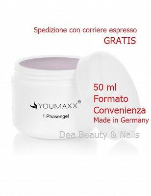 Gel Uv Monofase Rosa Pink Clear 3 In 1 Youmaxx Nded Ricostruzione Unghie 50 Ml
