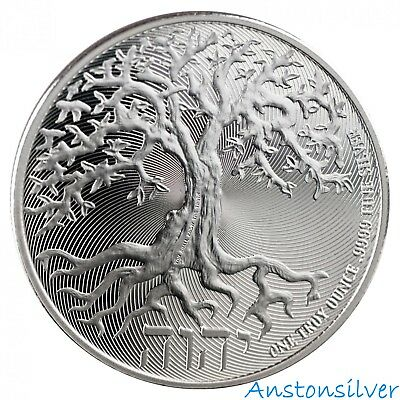 2018 Tree of Life - Niue 1 oz Silver Coin - Truth Coin Series