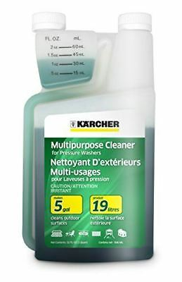 Karcher Multi-Purpose Cleaning Detergent Soap Cleaner for Pressure Power Washer,
