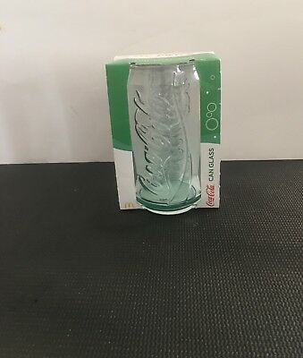 COKE GLASS 2017 GREEN McDonalds Collectable