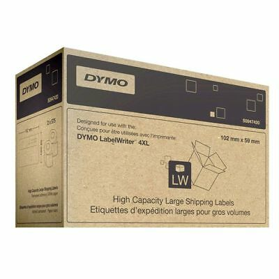 Dymo Large Shipping 59x102mm Label 2 Rolls 575/Roll for 4XL Printer 0947420