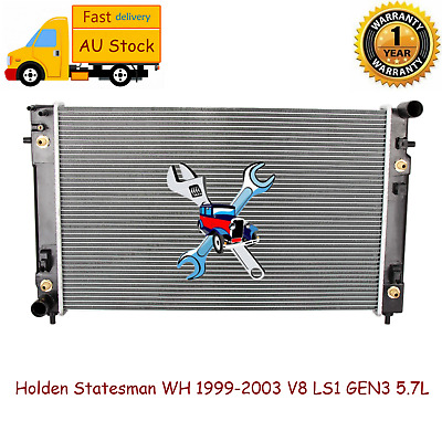 Premium Radiator for Holden Statesman WH 1999-2003 V8 LS1 GEN3 5.7L Auto/Manual