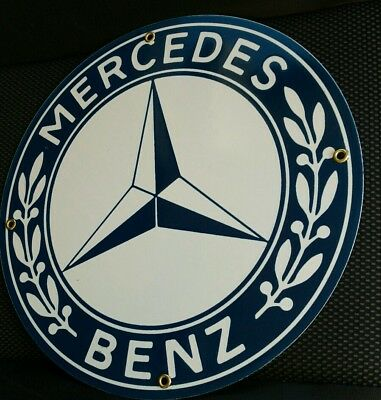 Mercedes Benz Porcelain / metal Sign