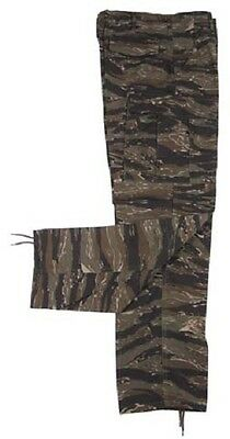 US Field Pants Army Tiger Stripe Cotton Ripstop Camouflage Trousers Medium