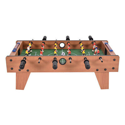 Strong Wooden Foosball Table Top Football Soccer Home Office Relax Game  Toys Set