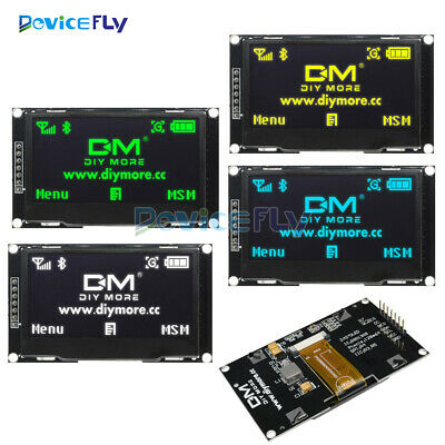 """2.42"""" inch OLED LCD Display SSD1309 12864 SPI Serial Port RGB for Arduino C51"""