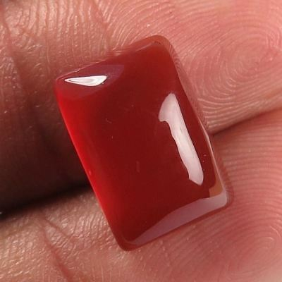 Rectangle Cabochon 6.80 Cts 100% Natural CARNELIAN  Gemstone 14x10 mm Wholesale